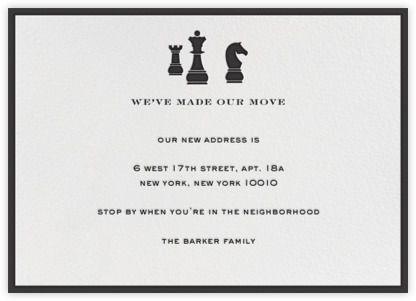 Chess - Paperless Post