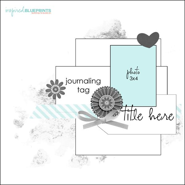 126 best 1 photo scrapbook layout sketches images on pinterest inspired blueprints malvernweather Choice Image