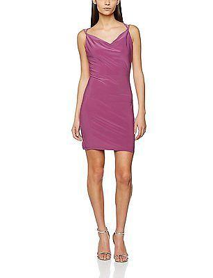14, Purple, MISS SELFRIDGE Women's Slinky Dress NEW