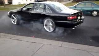 Image result for 2008 chevy impala ss on irocs