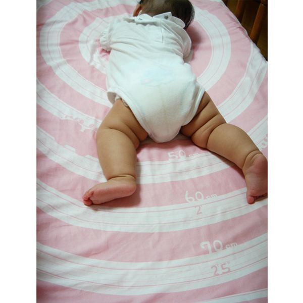 Measure Your Baby Crib Sheet by Clare Chen #Babies #Growth_Chart #Crib_Sheet #Clare_Chen