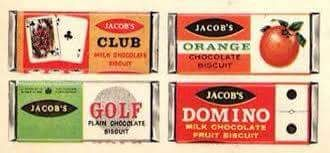 Club biscuits used to have 2 biscuits inside and the chocolate was a lot thicker.  When you bit the chocolate off round the edge it would break away clean from the biscuit (I always ate the chocolate edge first).