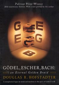 Gödel, Escher, Bach: an Eternal Golden Braid. This book is a Pulizer Price Winner and not easy to read. I won't pretend that I understand or remember every part of this book but I recommend this especially if you like the work of Daniel Dennet.