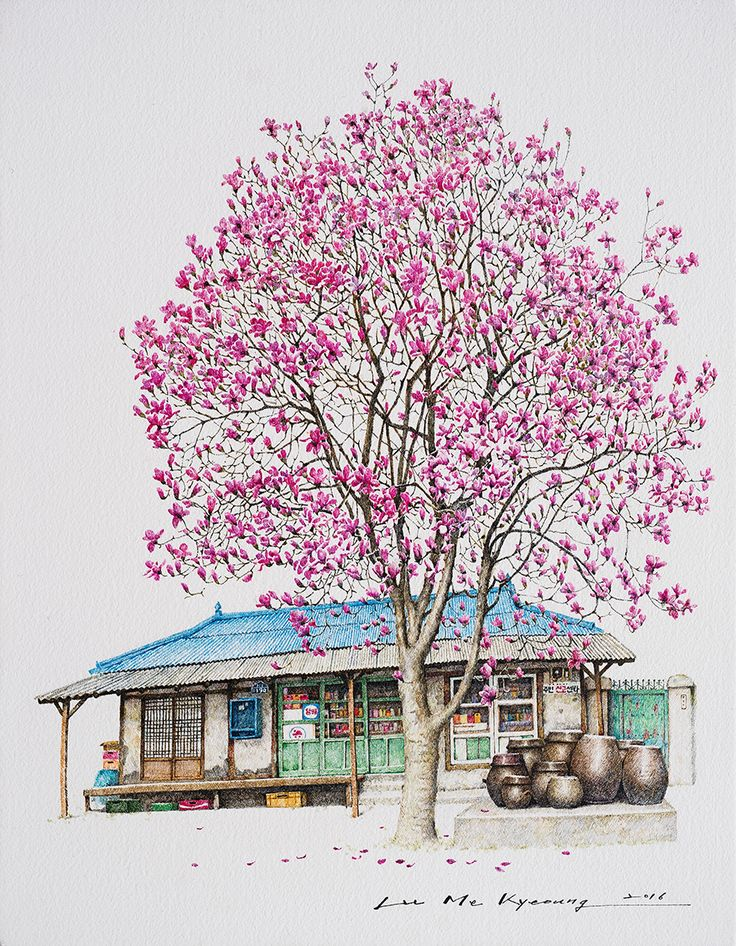 Spring day Daegok | 이미경 Lee Me Kyeoung | 2016.09