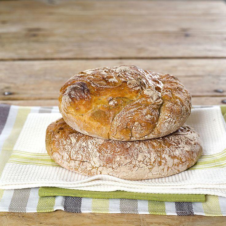 brød uten elting, eltefritt brød