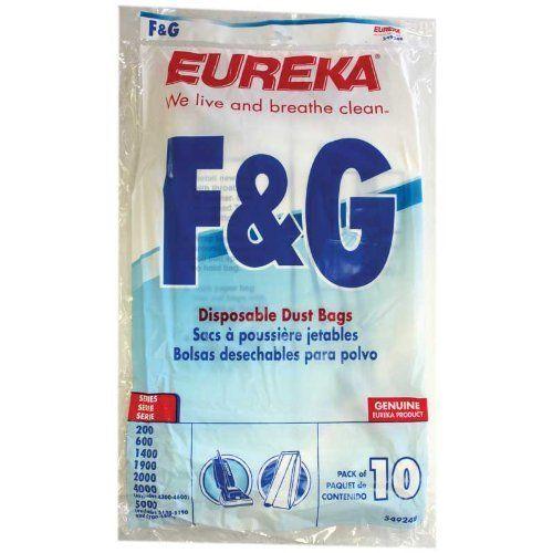 Eureka 54924-10 Pkg.10 Style F&g Eureka Vacuum Bags