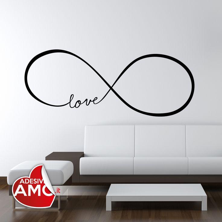 Adesivi da parete Love Infinity - @stellavero