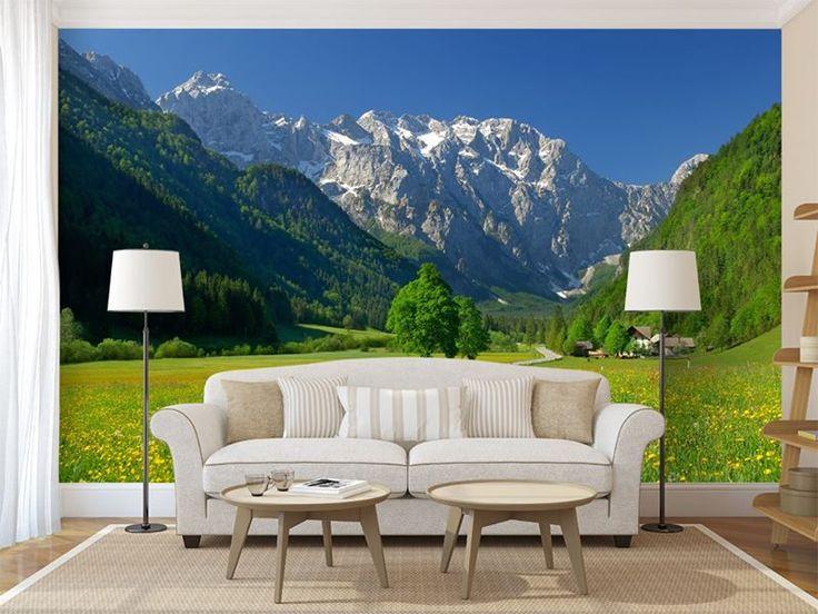Salon z widokiem na góry