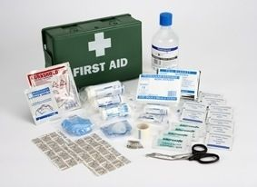 Steroplast BS85991 Compliant Travel First Aid Kit Box is portable & ideal for minor injuries
