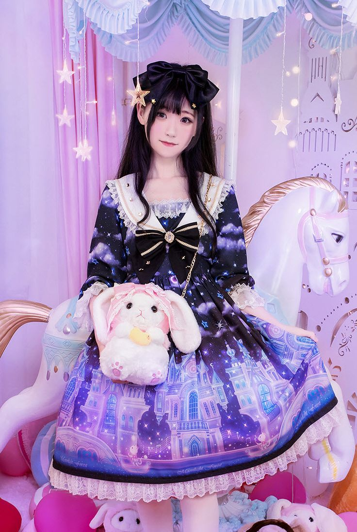 Moonlight Forest -Fantasy Castle Series- Match Bunny Shaped Lolita Bag