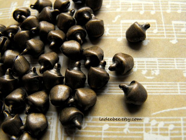 Mini Antique Bronze Jingle Bells. Starting at $1 on Tophatter.com!