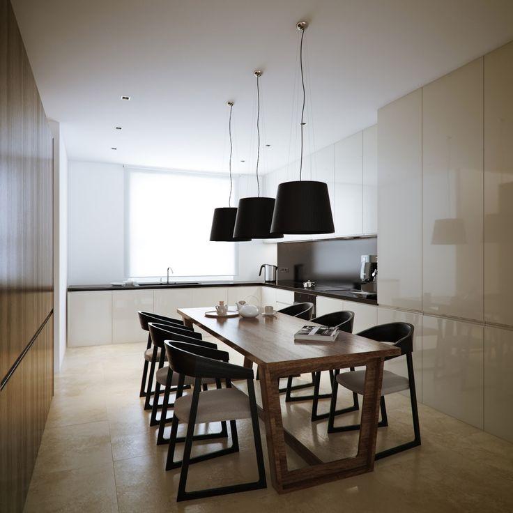 Modern Kitchen And Dining Room Design 71 best loftez dining room images on pinterest | dining rooms