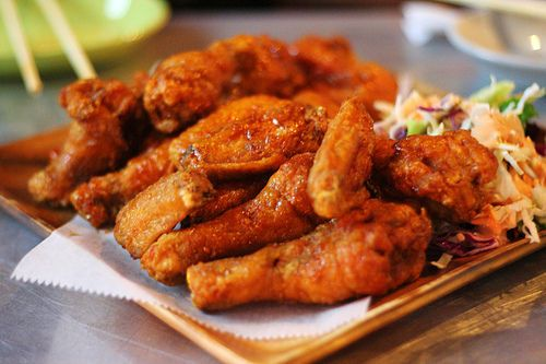 Buffalo Wings food. I am getting hungry!