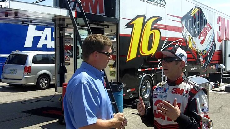 Speeds, gooves and tires: Greg Biffle talks with Roger