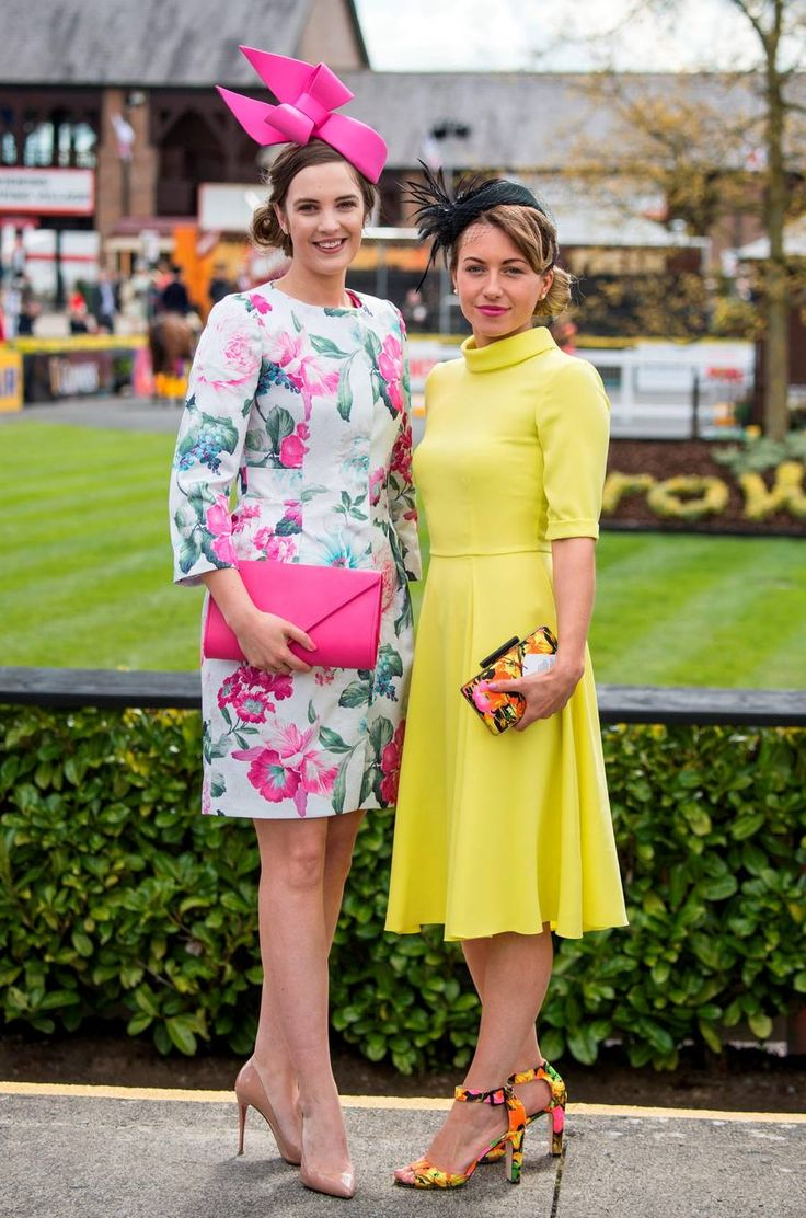 Alex Butler and Aoife Crotty at day two of Punchestown festival. Picture: Michael Chester