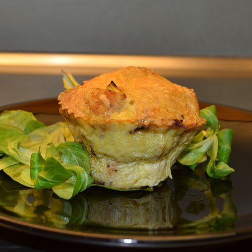Omelettmuffins med kyckling & bacon | http://sannakarlin.com/sugarandspice/recipes.php?id=47