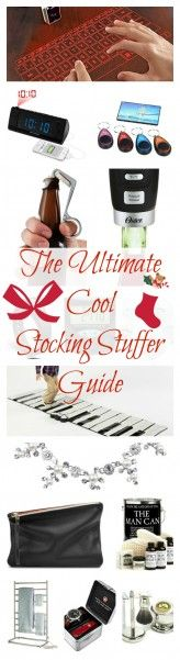 THE ULTIMATE COOL STOCKING STUFFER GUIDE! The coolest fun gadgets and accessories for man, woman, & child. #christmas #stockingstuffers http://livedan330.com/2014/11/23/ultimate-cool-stocking-stuffers/