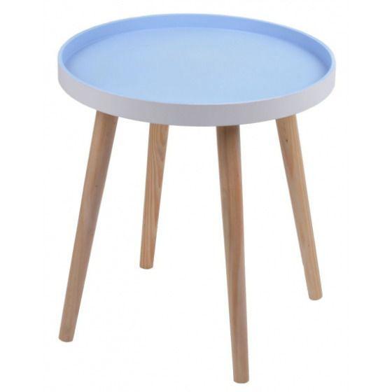 Stolik niebieski 38 cm