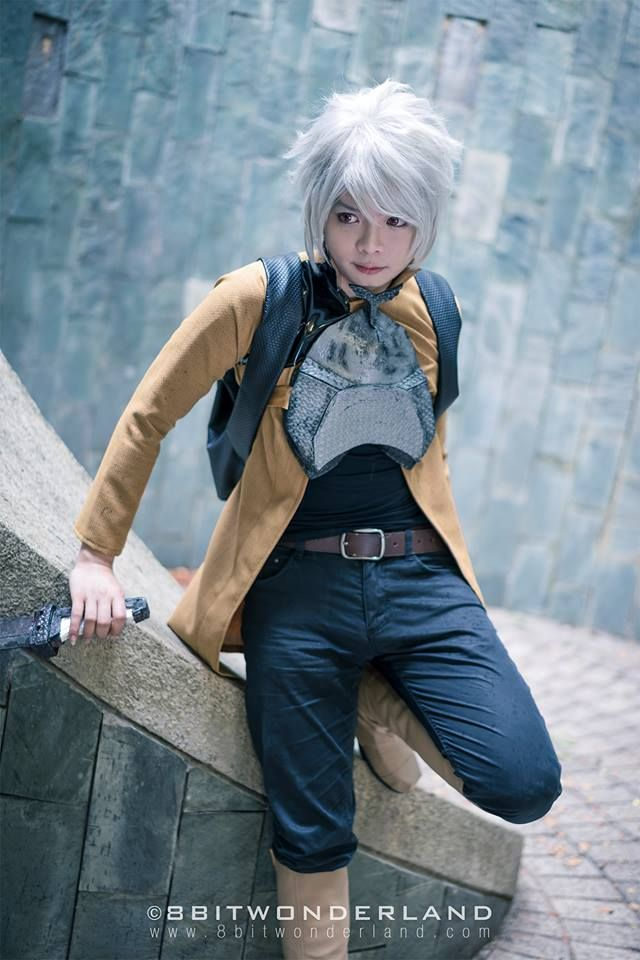 Bell Cranel from DanMachi cosplay by Max's Derps