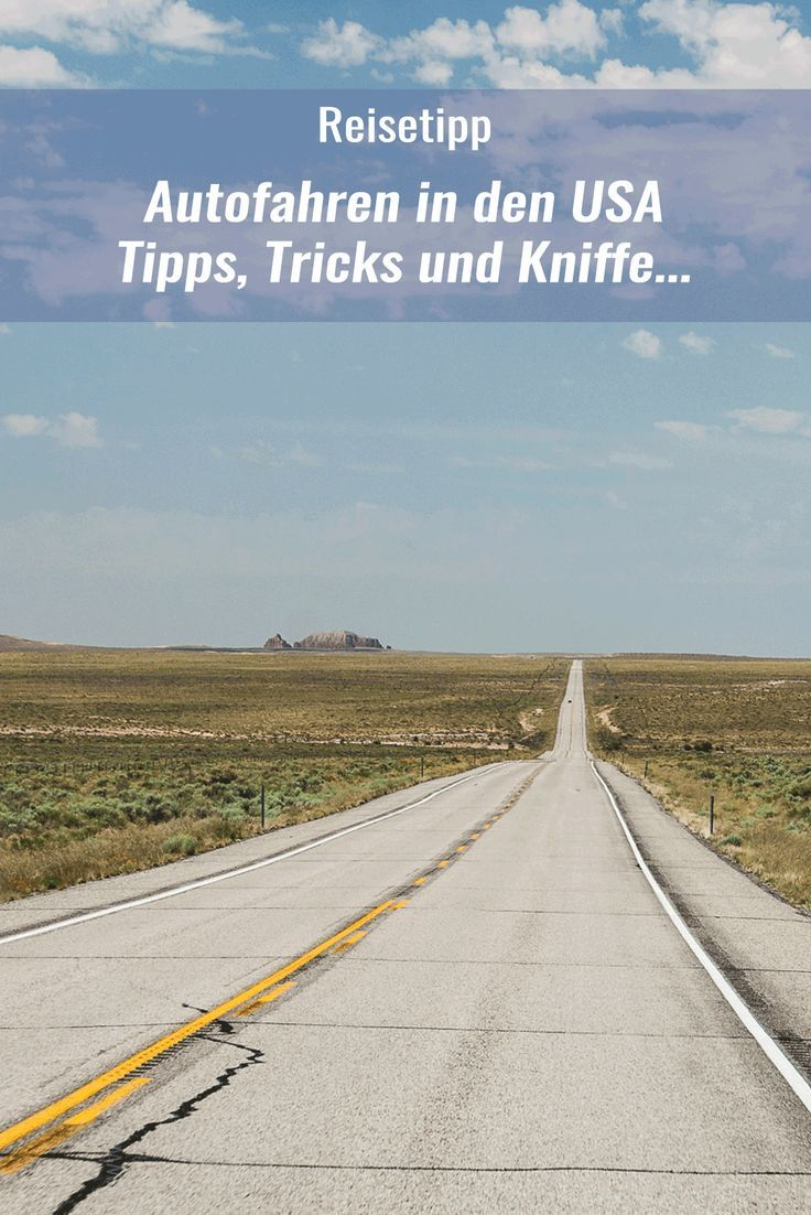 Autofahren ist in den USA eine entspannte Angelegenheit.   Trotzdem sollte man ein paar Dinge wissen, wenn man sich auf die Straßen der USA begibt. Die wichtigsten Erfahrungen und Tipps, Tricks und Kniffe haben wir mal für Euch zusammen gefasst.