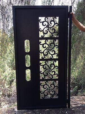 Metal-Gate-Contemporary-Modern-Italian-Art-Iron-Steel-Garden-Art-Ornamental