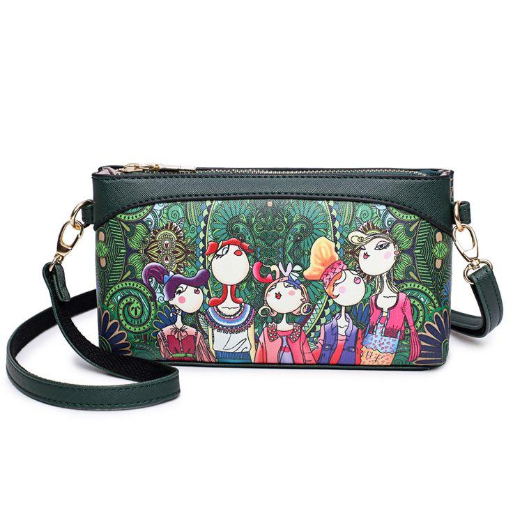 2017 Cheap Fashionable Crossbody Bags For Women Mini Ladies Shoulder Bags Zipper Small Clutch Bag Day Clutches bolsa feminina
