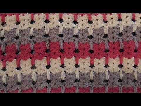 Tığ işi selanik örgü modeli yapımı/Örgü modelleri - YouTube