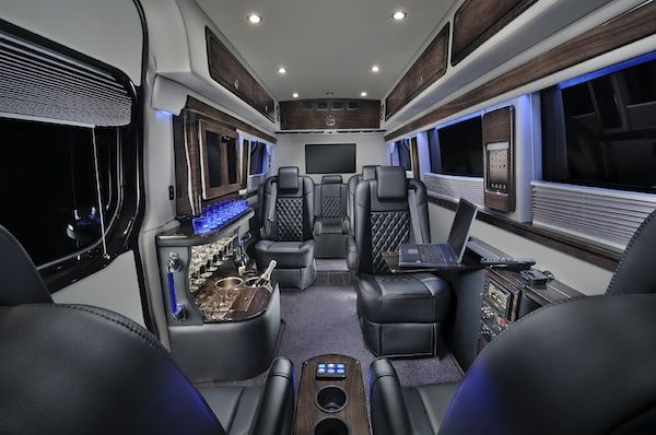 Sprinter Mobile Office Van Black Denali Wood Things To