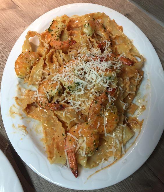 Die besten 25+ Cremige garnelen pasta Ideen auf Pinterest - leichte und schnelle küche