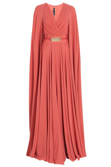 esra is the designer? (So dramatic. Coral and I don't get along, but if this is in another color I'm ALL up on that)