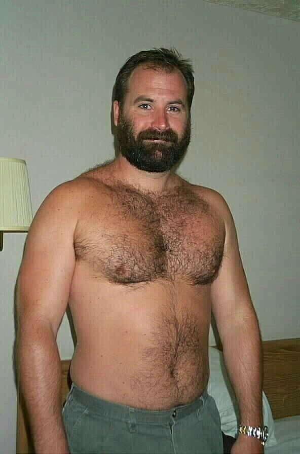 Hairy Chested Gay Bear Men
