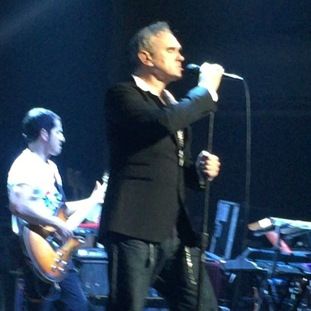 F Ked Him In Lagos Ph: Morrissey Performed On Tuesday At The Masonic
