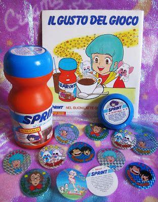 Sprint! (e la disperazione di aver buttato tutti gli adesivi...)
