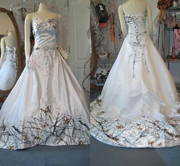 The 25+ best White camo wedding dress ideas on Pinterest | Camo ...