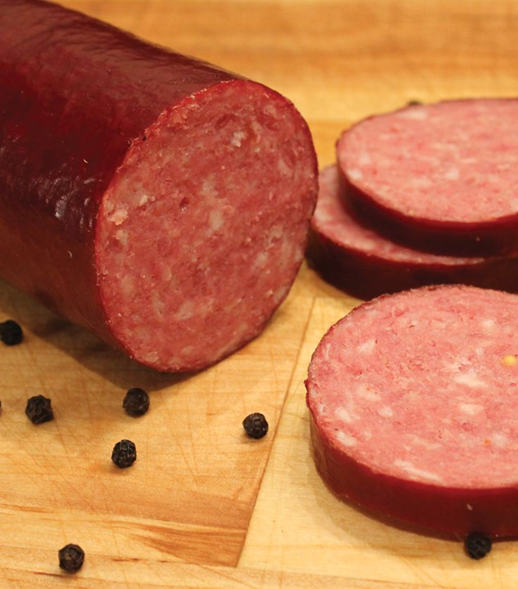 Learn how to make your own smoked venison summer sausage.