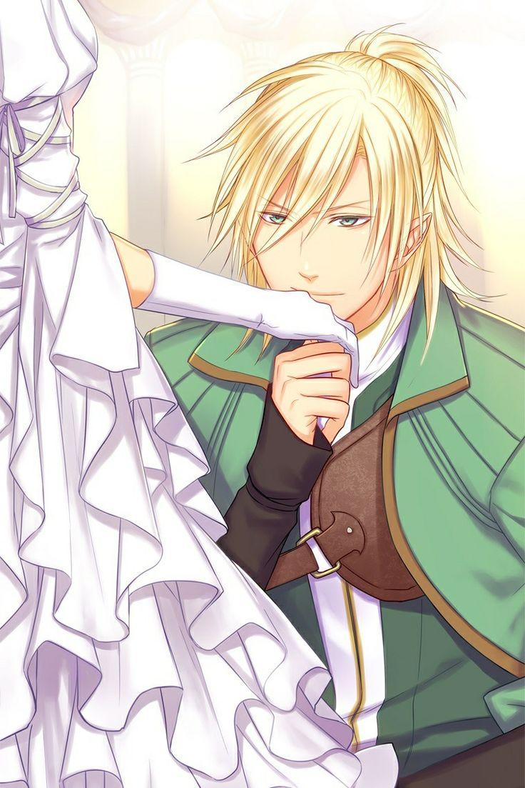 Magic Sword Estel Happy Ending Anime wedding