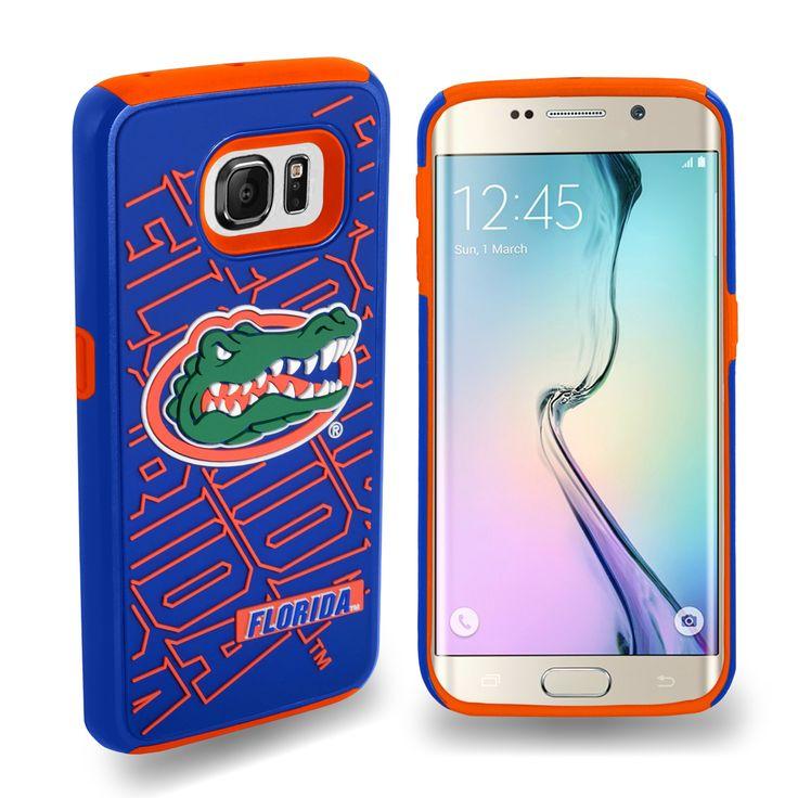 Dual Hybrid Impact Case For Samsung Galaxy S6 Edge Ncaa Florida Gators, White