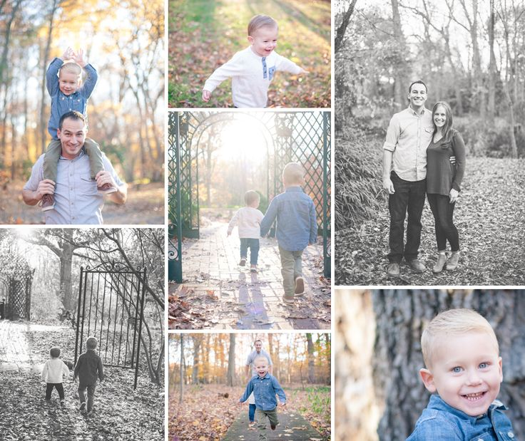 bergen county family photographer, bergen county child photographer, bergen county natural light photographer, bergen county outdoor photographer, family fall photo session, photo session in the leaves, black and white family photos, white and denim color combination, golden hour family photos