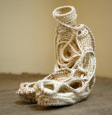 Rope sculpture - Judy Tadman