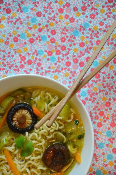 Soupe chinoise détox