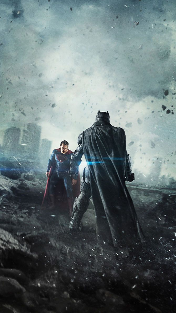 Batman V Superman Dawn Of Justice 2016 Phone Wallpaper