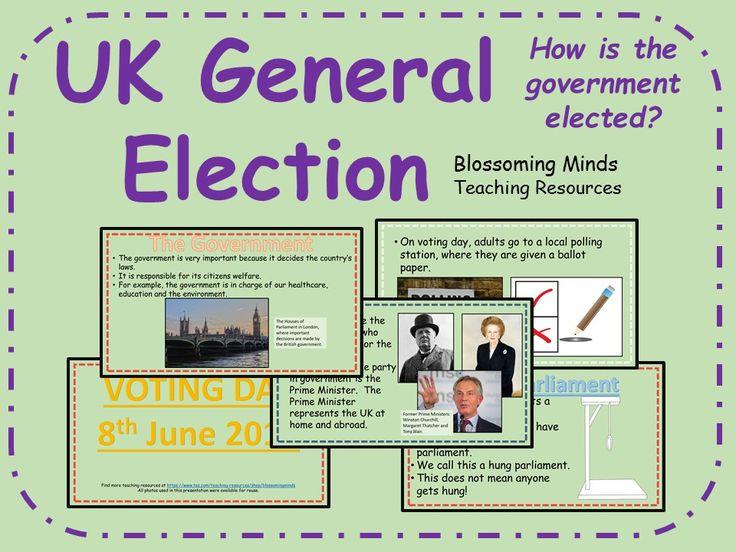 UK General Election 30 slide presentation - June 2017