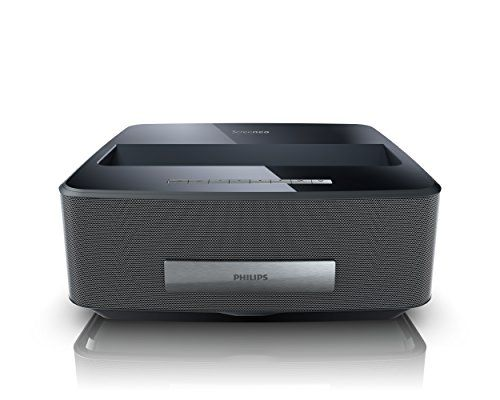 Philips Screeneo Smart LED Home Theater Ultra Short Throw Wireless Projector (Black) #deals