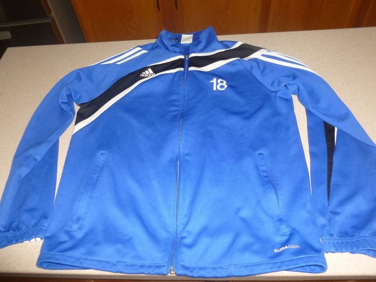 Adidas Clima Cool Colorado Storm Track Jacket Youth XL 15-16 #Adidas #TrackJacket