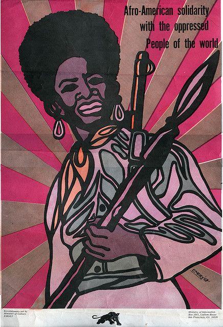 Emory Douglas: Afro-American Solidarity, 1969. Poster.