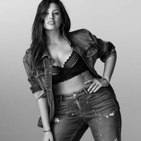 """This is Ashley Graham. She's a model, body activist, and designer. 