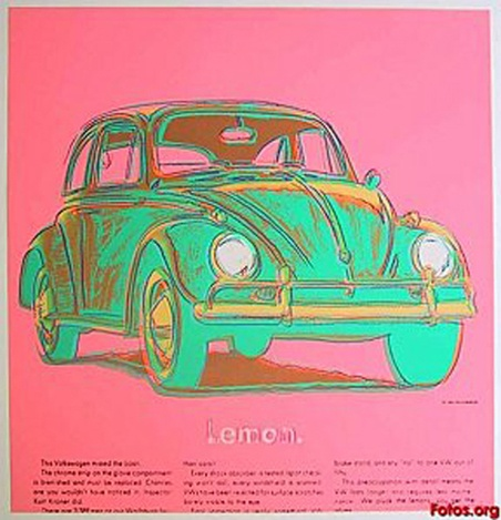 Painting by Andy Warhol.