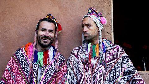 World Party TV Show in Peru, Alpha TV, with Sakis Tanimanidis and Georgios Mavridis. Wednesday 27 May 2015, 21:45