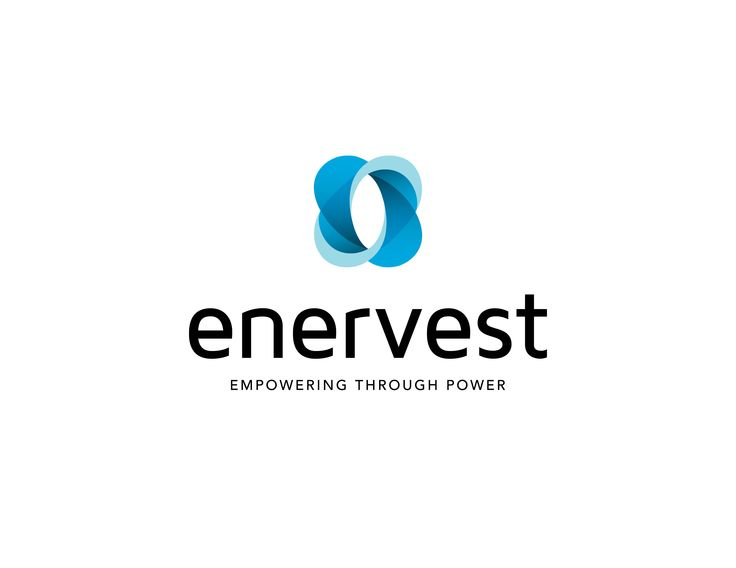 Enervest logo by Fletcher Creative. #Logo #Branding #Icon #Identity #solar #energy #environment #typography #design #creative #designstudio #fletchercreative