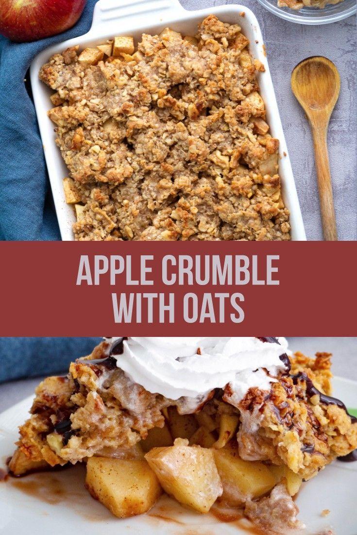 Apple Crumble Recipe With Oats Vegan Recipe Apple Crumble Recipe Apple Crumble With Oats Crumble Recipe